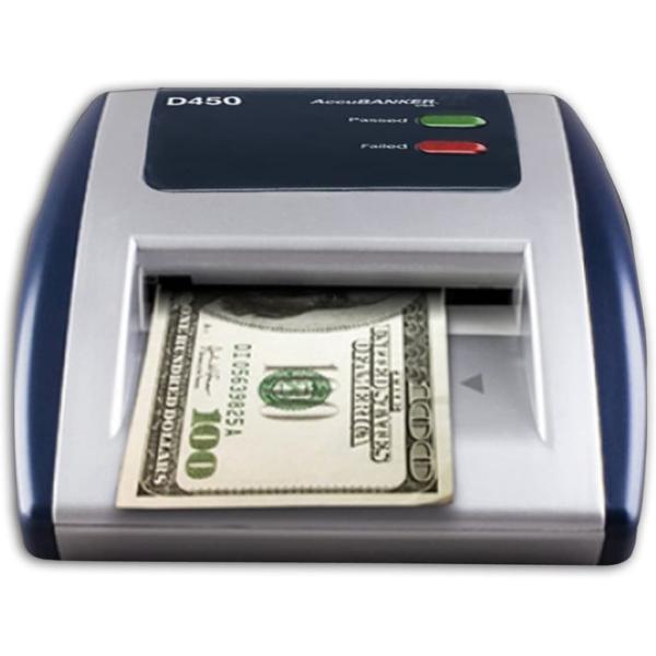AccuBANKER D450 - counterfeit detector