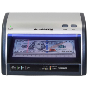AccuBANKER LED420 – counterfeit detector