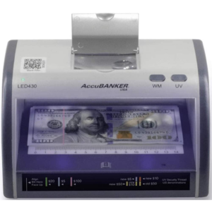 AccuBANKER LED430 – counterfeit detector